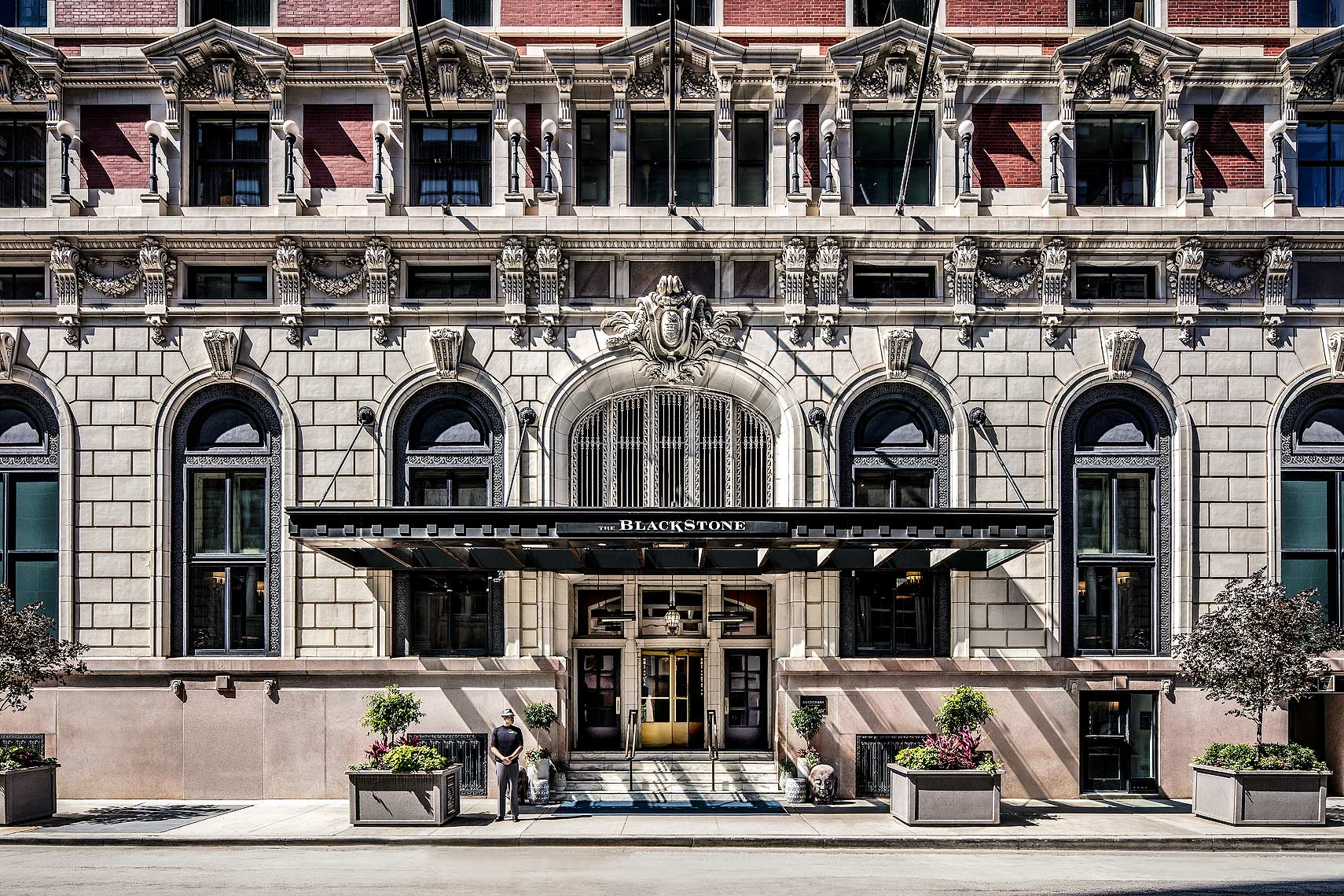The Blackstone Hotel, Chicago - Exterior - Hotel Photography