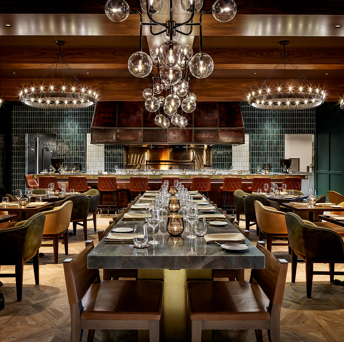 Braven Restaurant at the JW Marriott Edmonton Hotel, Canada