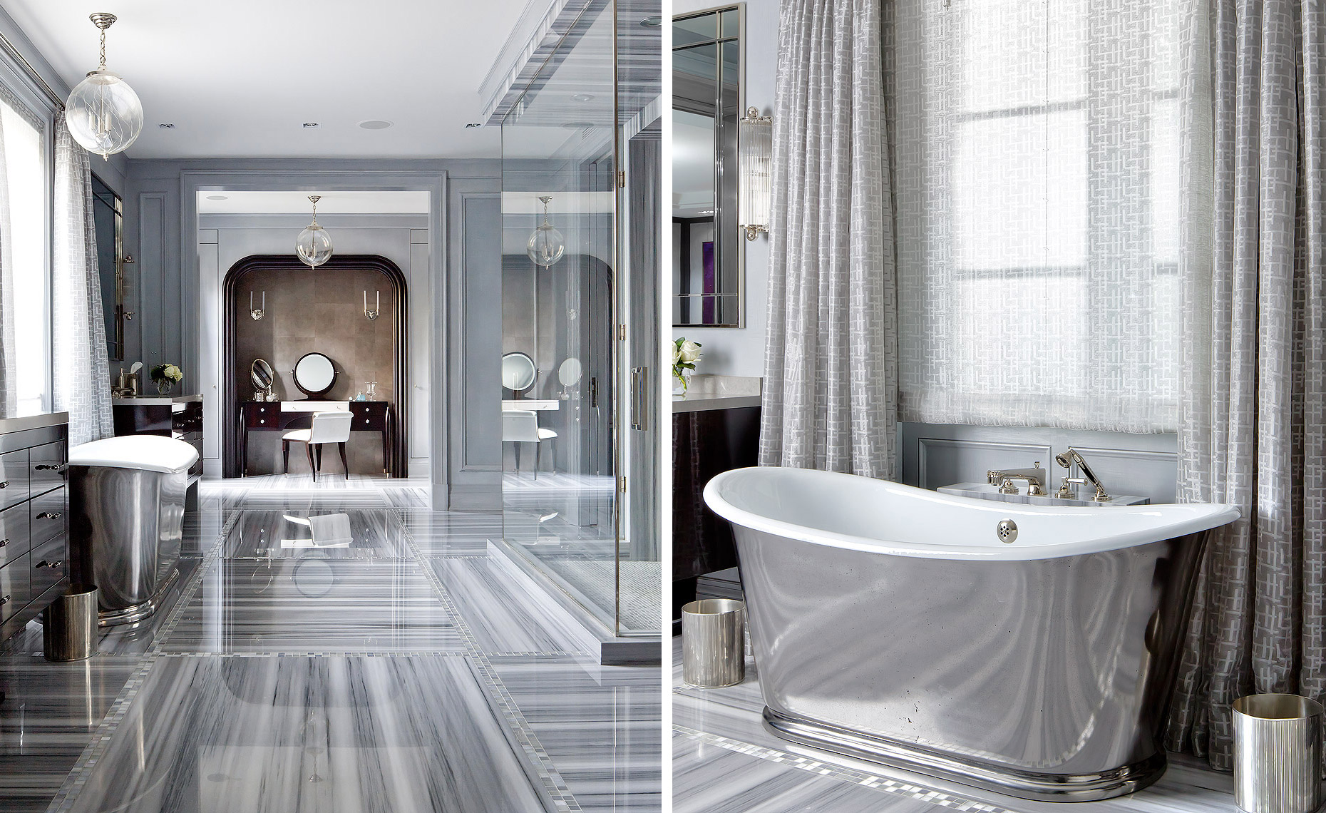 Brian Gluckstein Luxury Bathroom