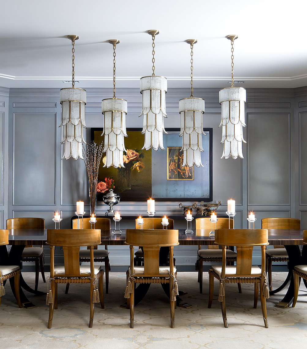 Brian Gluckstein Design Dining Room
