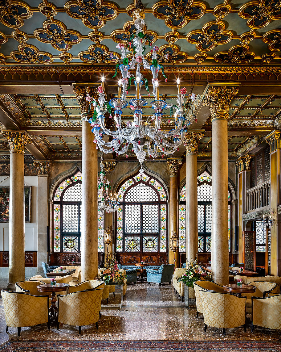 Hotel Danieli Dandolo Lounge - Venice, Italy - A Luxury Collection Hotel - Hotel Photography