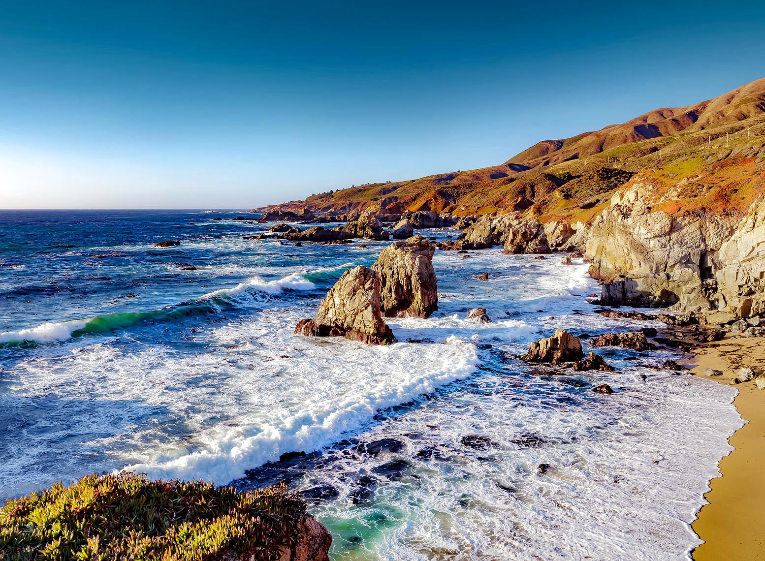 Monterey, California, USA - coastline