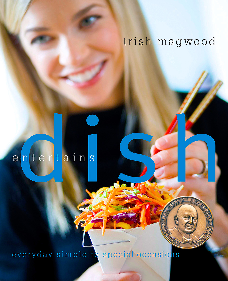 Dish Entertains Cookbook James Beard Award