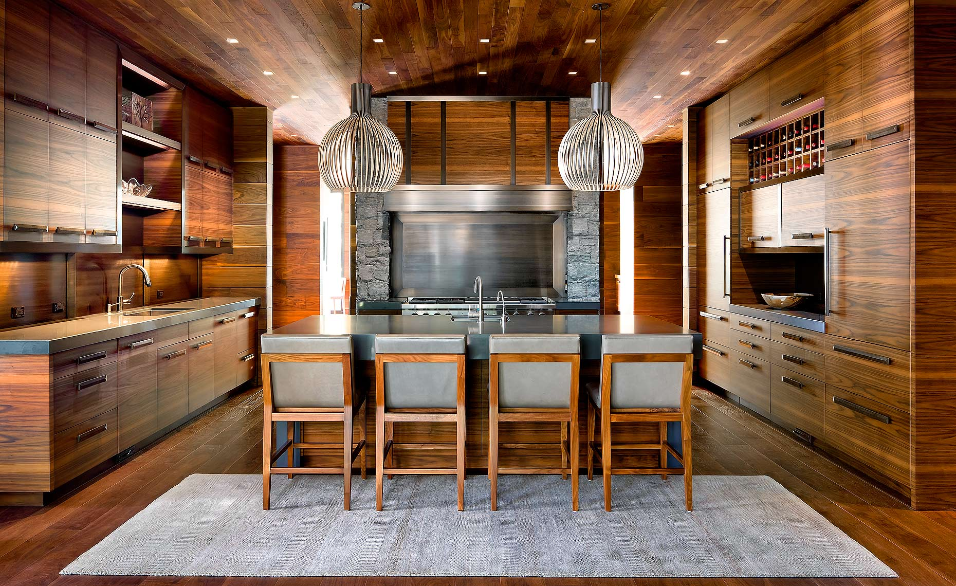 Dwell Magazine Modern Kitchen by Lori Morris Design. Luxury Real Estate Photographer