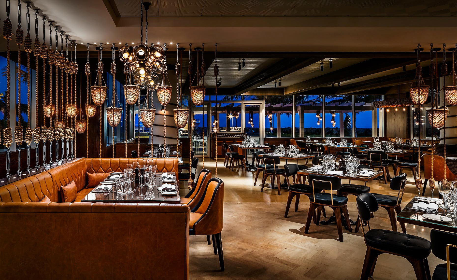 Fairmont Fujairah Copper Lobster Restaurant by Stickman Design Dubai
