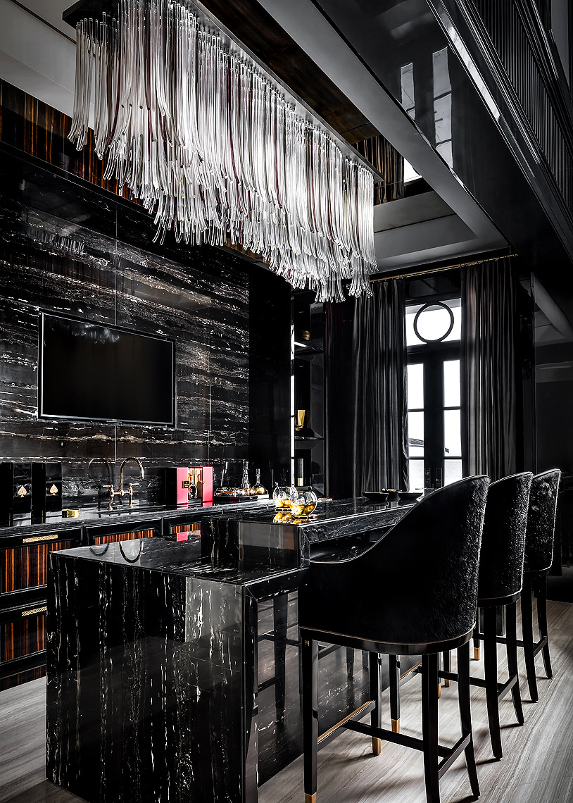 Ferris Rafauli Design - Luxury Bar - Toronto luxury interior photographer