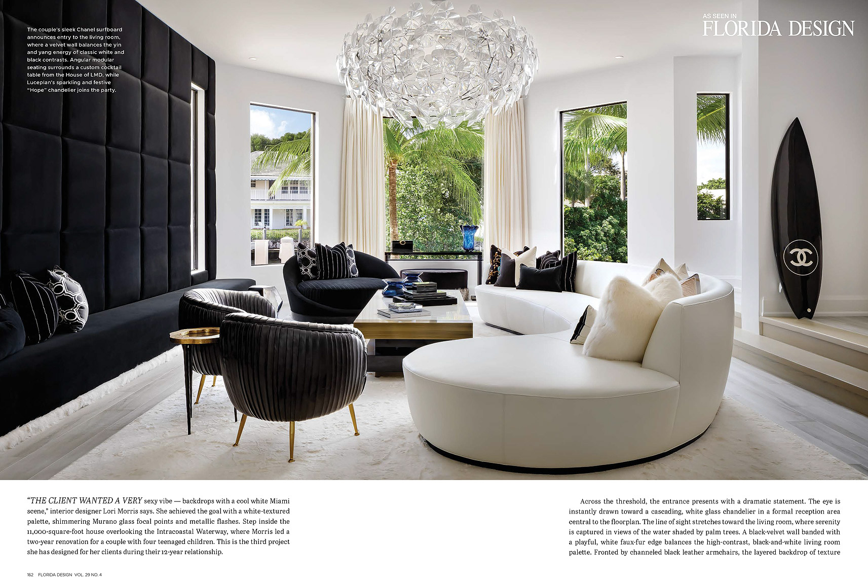 Florida Design Magazine - Lori Morris Design