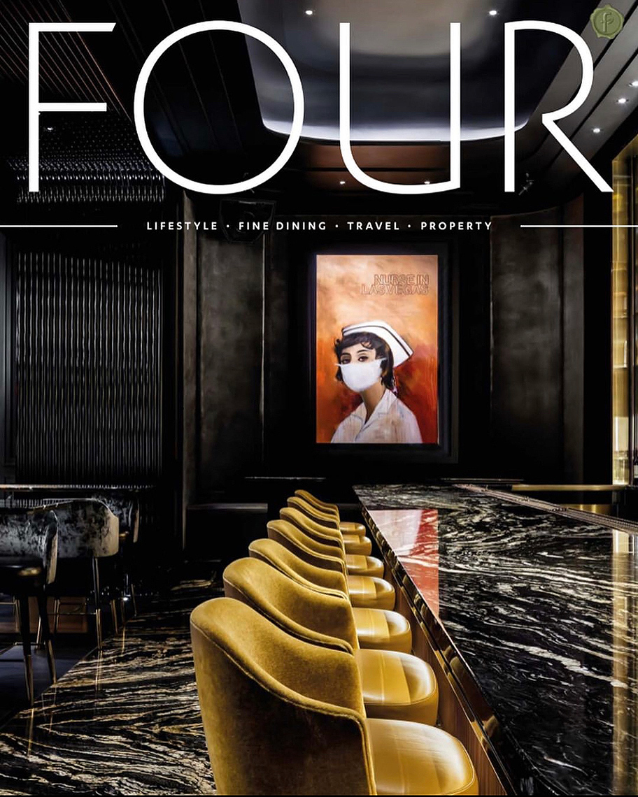 FOUR Magazine cover photographed by Brandon Barré