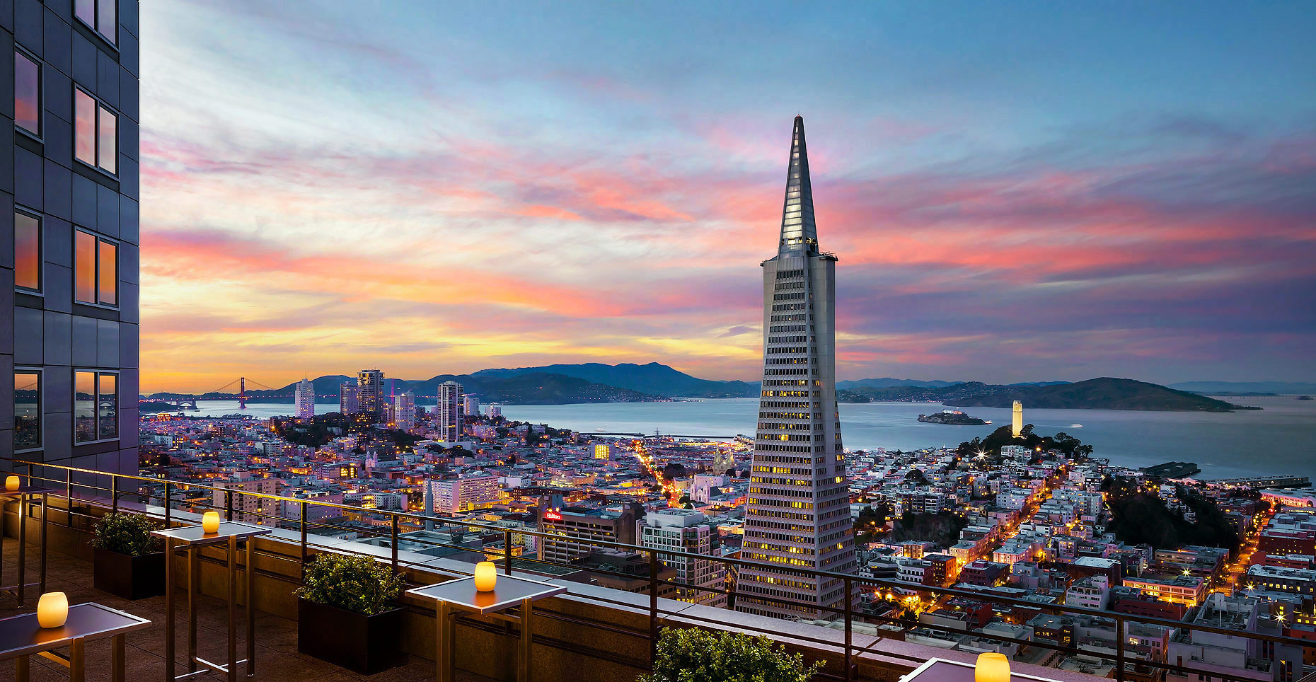 Four Seasons Hotel , San Francisco - Skydeck