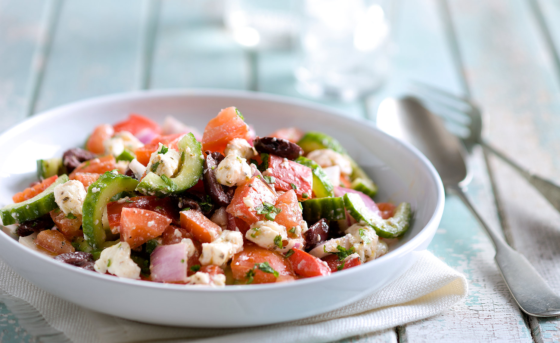 Montreal Food Photographer Greek Salad