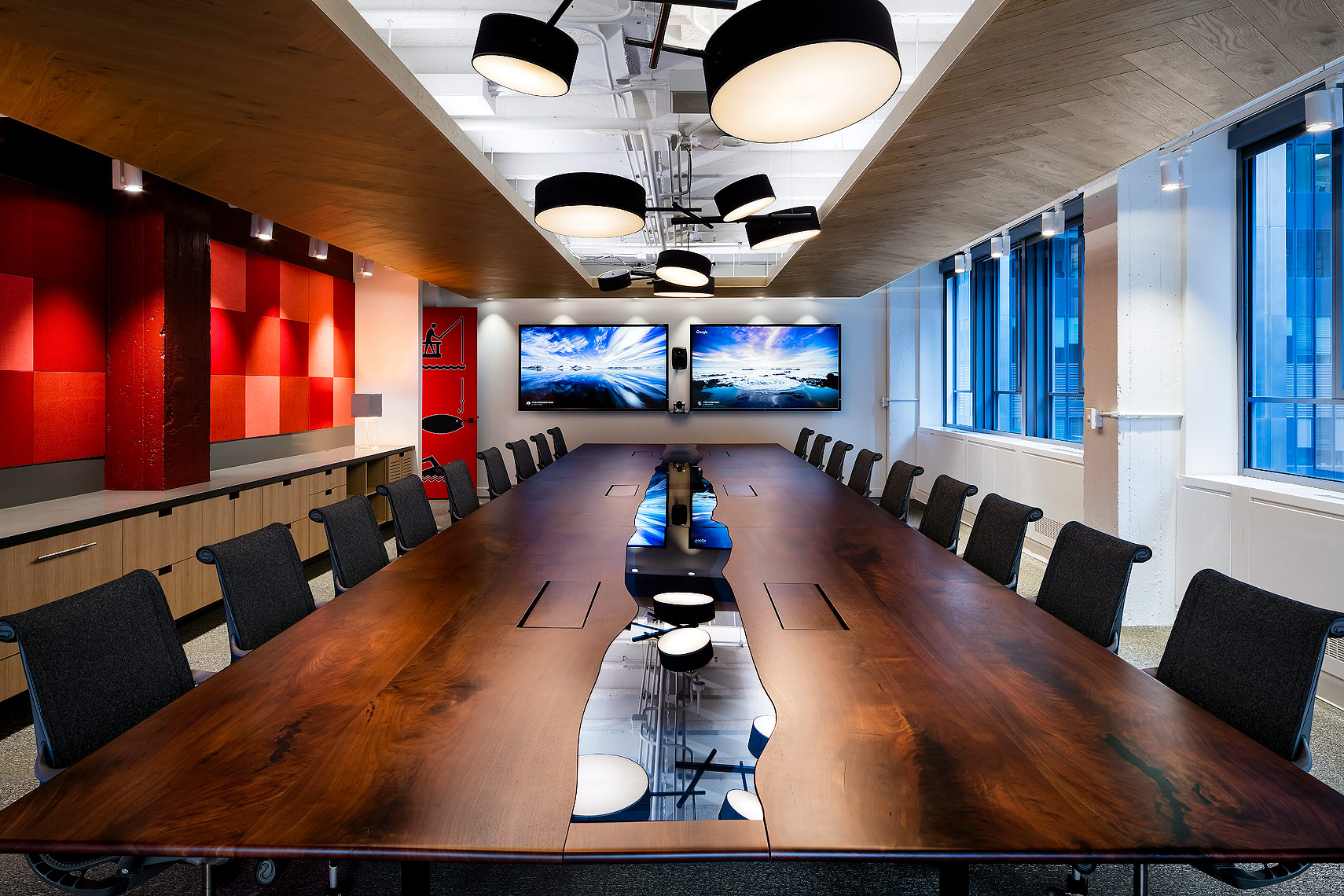 Tech Office Boardroom - Design by IN Studio