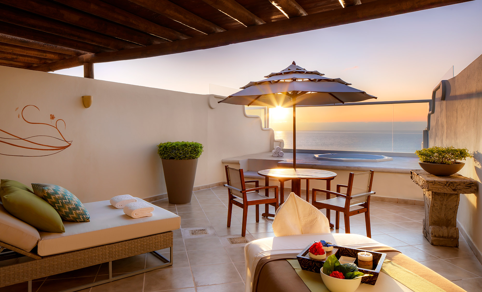 Grand Velas Hotel & Resort,  Riviera Nayarit - Wellness Suite Terrace