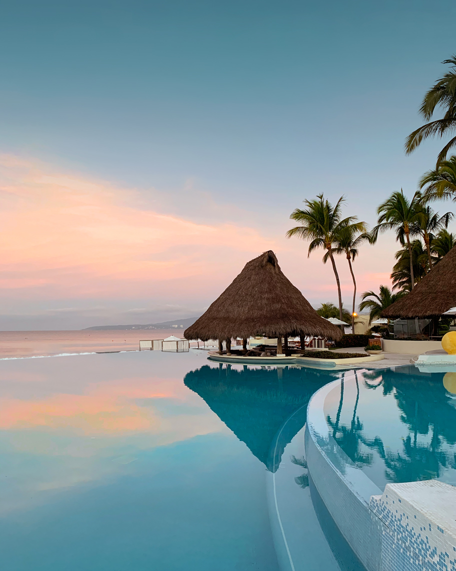 Grand Velas Nayarit Pool in Puerto Vallarta, Mexico. Travel Photographer