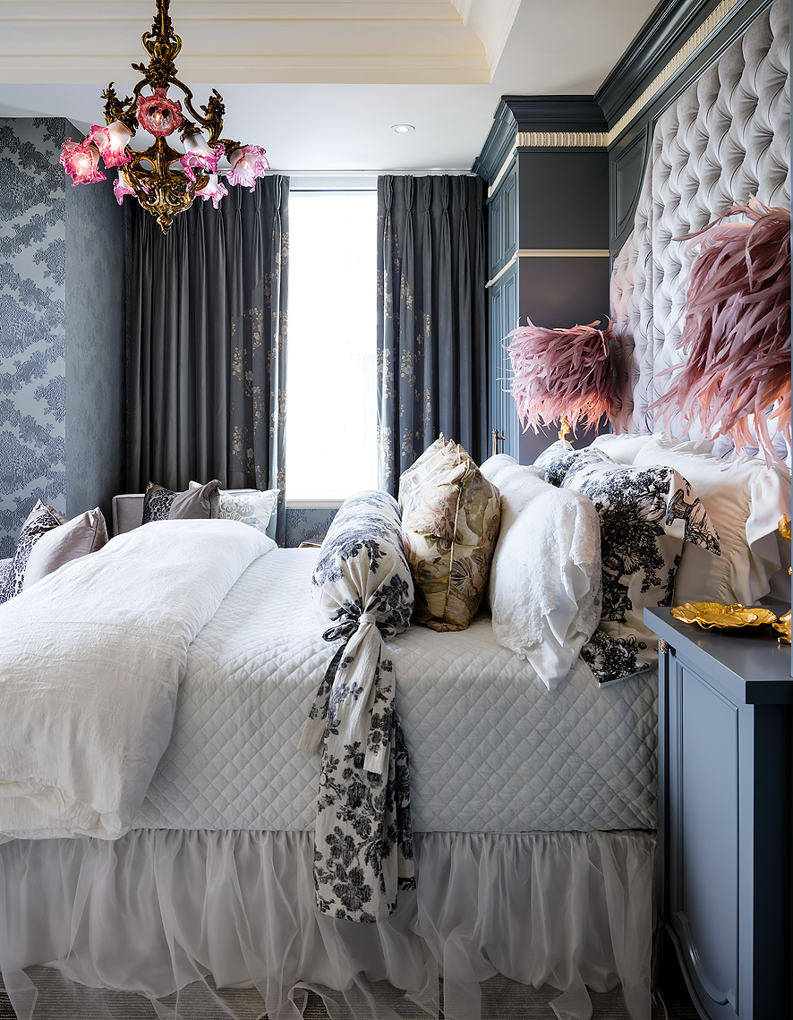 Lori Morris Design Bedroom