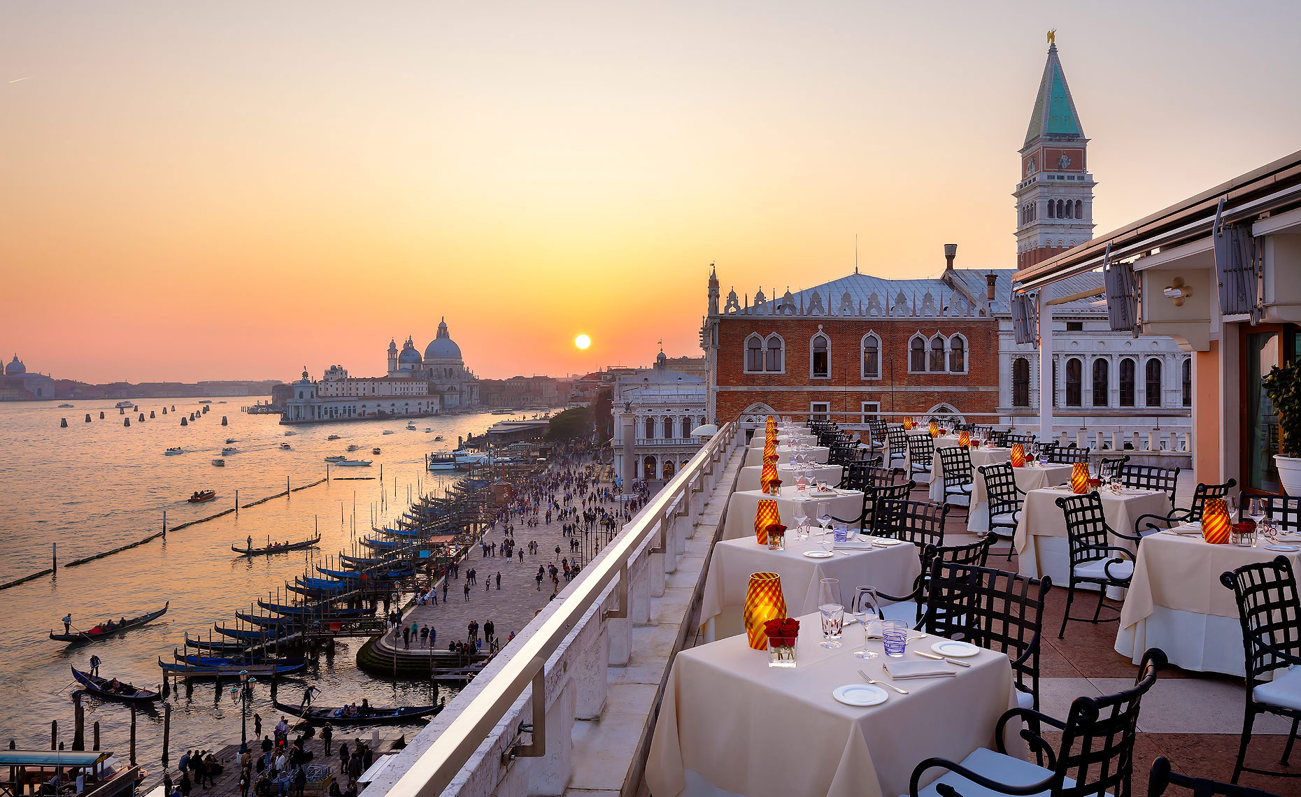 Hotel Danieli La Terrazza Restaurant, Venice, Italy - A Luxury Collection Hotel