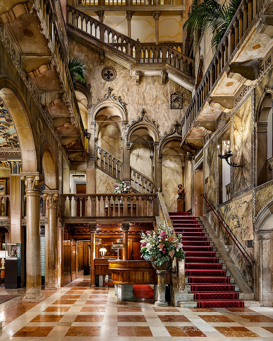 Hotel Danieli Venice, Italy, Lobby - A Luxury Collection Hotel - Hotel Photography