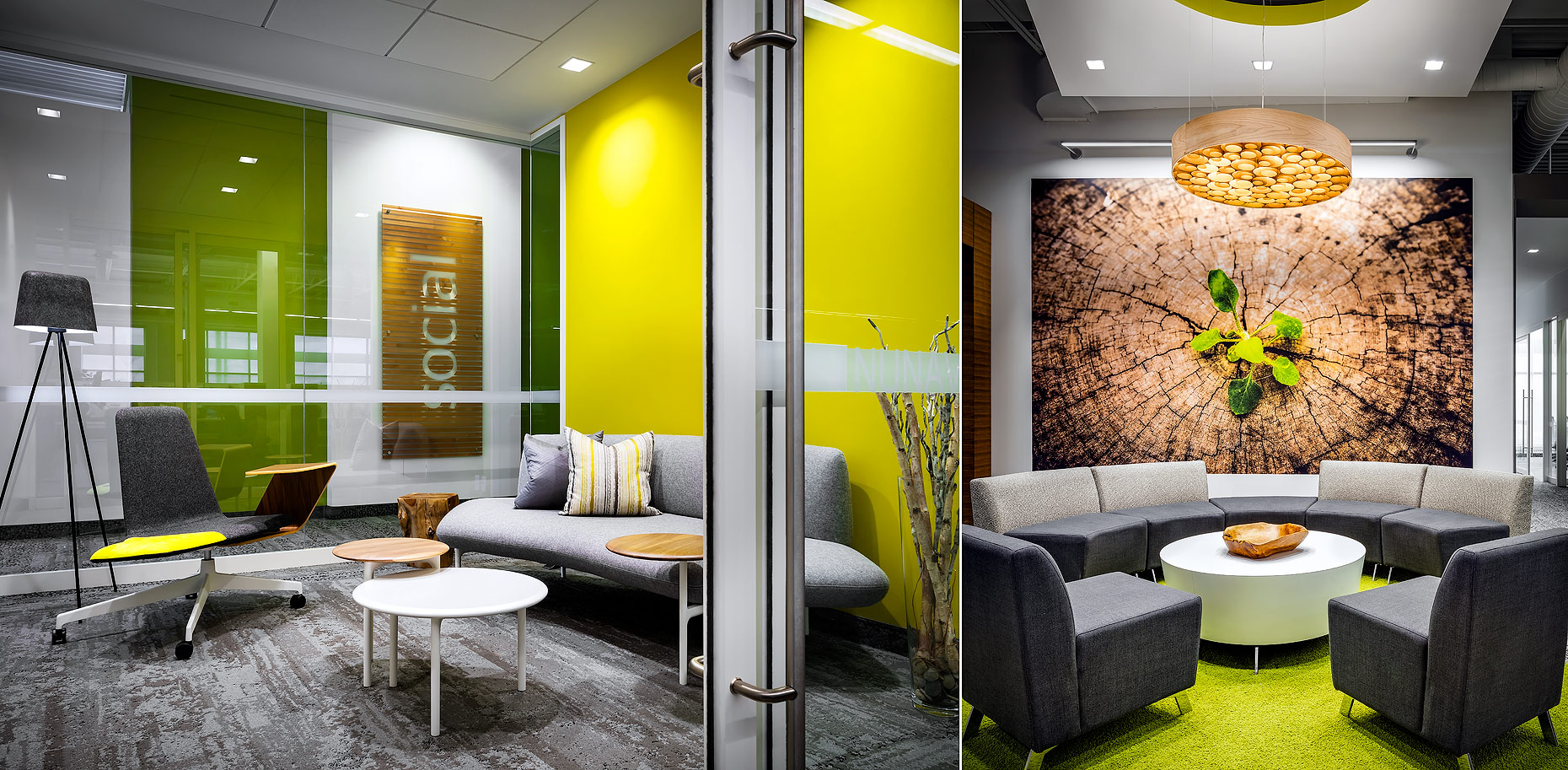 John Deere Head Office Lounge by Comley Van Brussel
