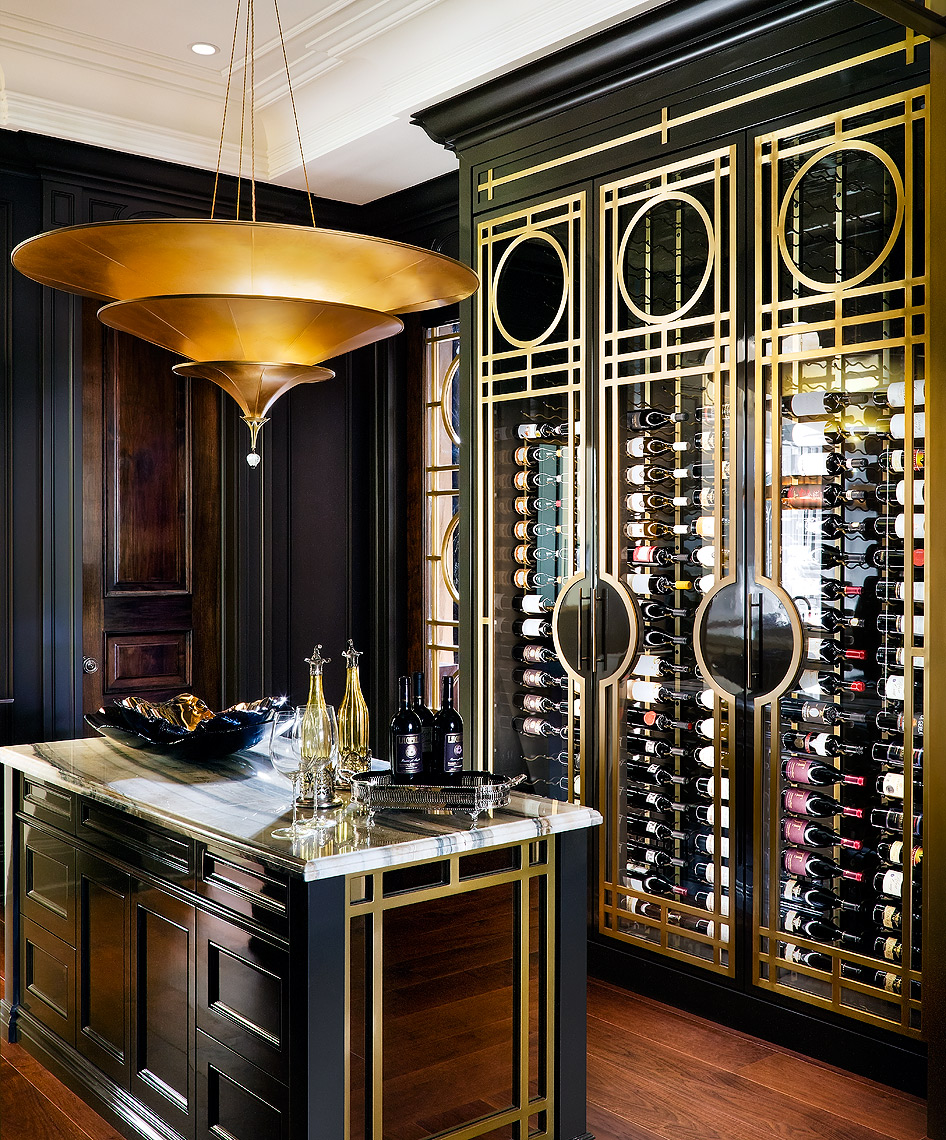 Lori Morris Design Wine Cellar