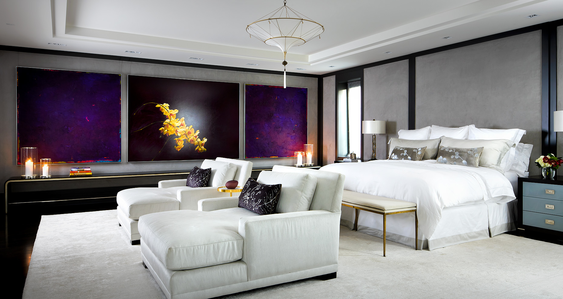 Brian Gluckstein Design Bedroom