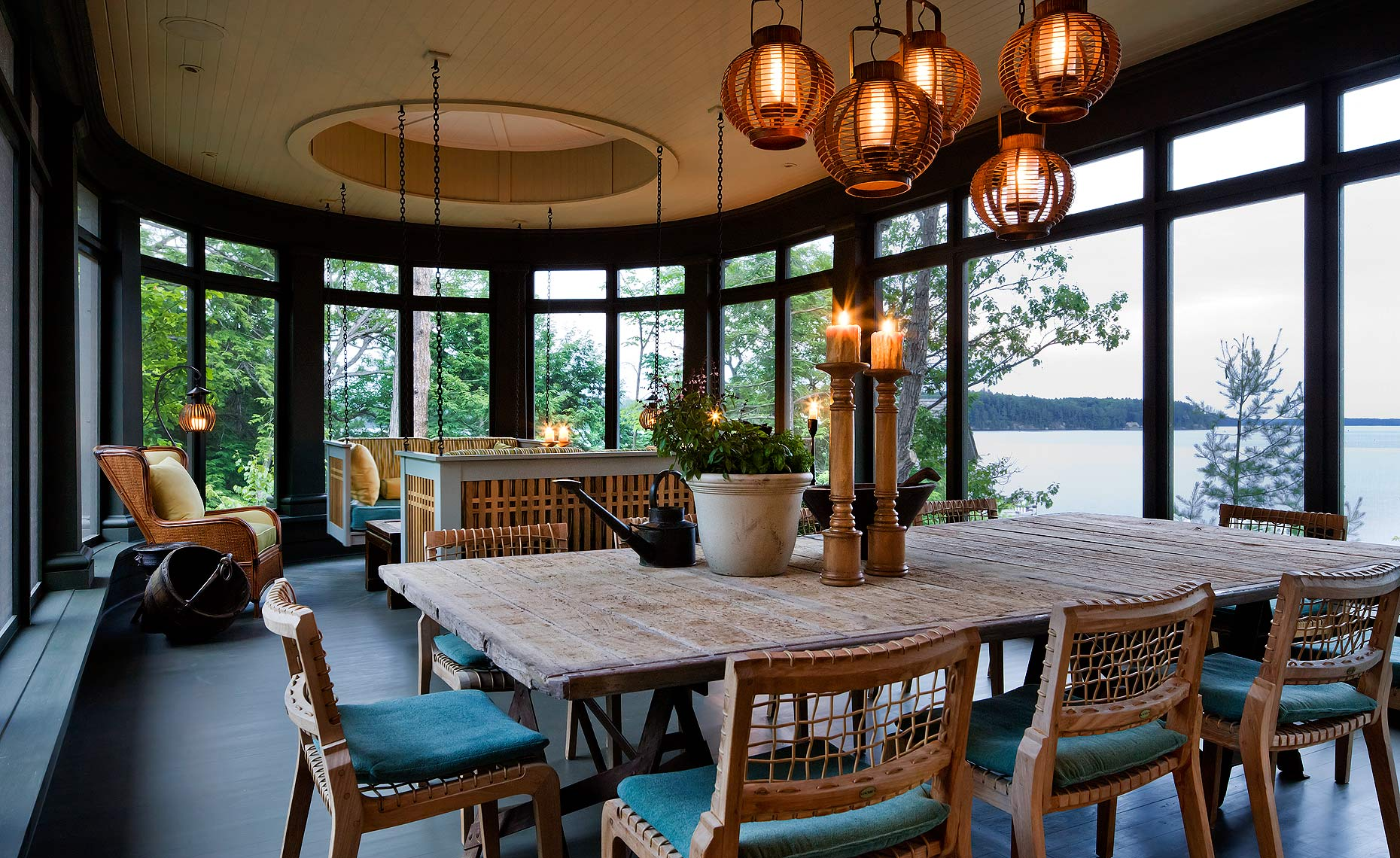 Muskoka Room by Lisa Stevens and Co Design