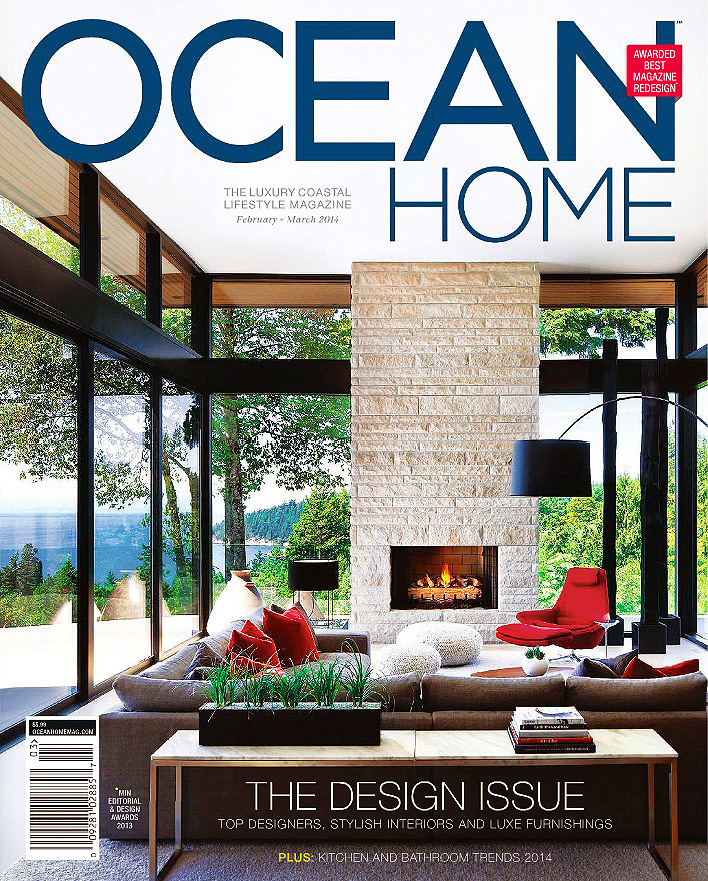 Ocean Home Magazine Cover