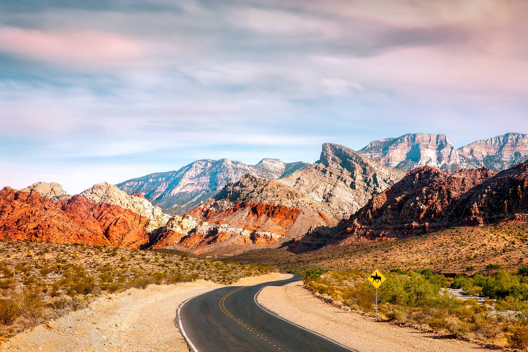 Red Rock Canyon, Nevada, USA - Mojave Desert, Las Vegas