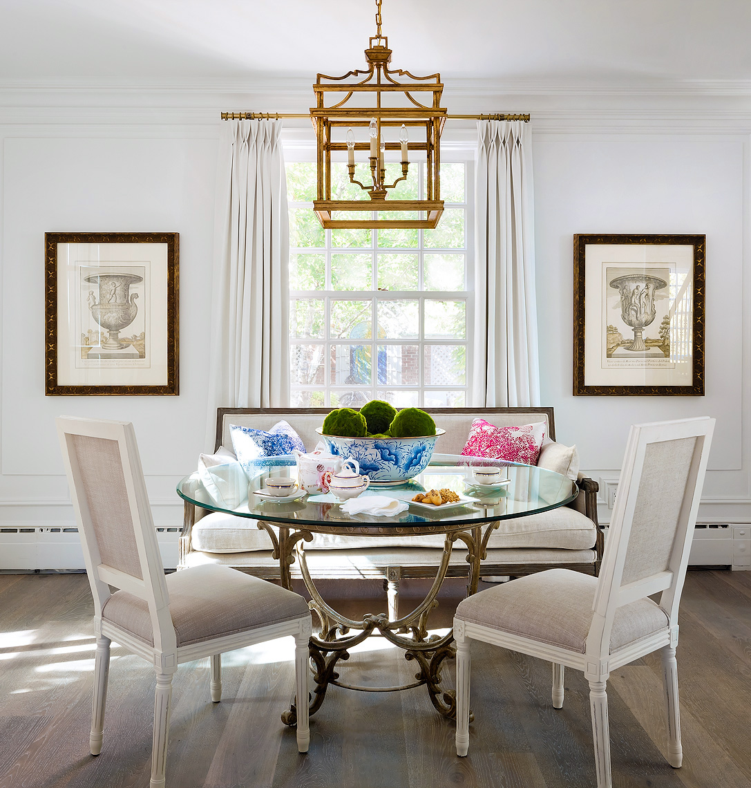 Traditional  Classic Breakfast Nook - Toronto Interior Design Photographer