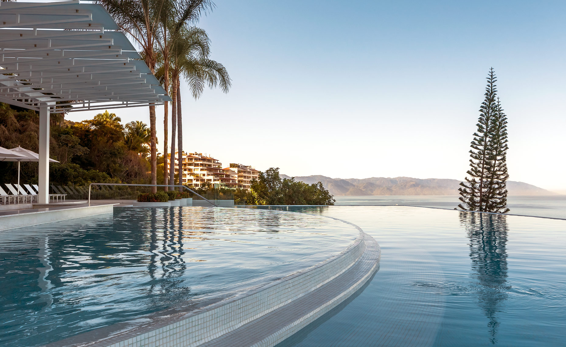 The Avalon Pool, Puerto Vallarta, Mexico - Hotel and Resort Photography