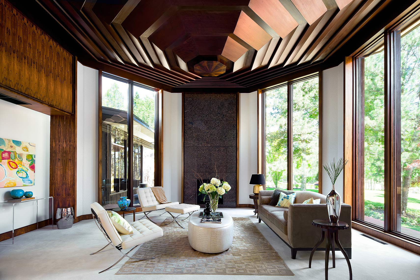 Luxury Modernist Livingroom